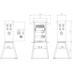 SRB13-GA125-1x32-1x16-8x230-S