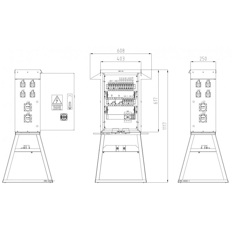 SRB13-GA125-2x32-2x16-8x230-S