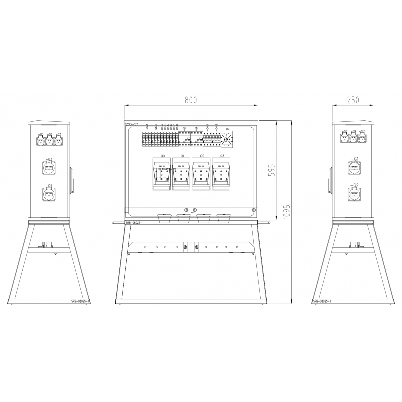 TRB3-4xRBK00-GA125-2x35-2x1...
