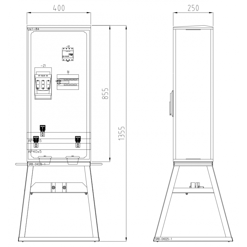 TRB-L1-80-RBK00-100-4-300mA...