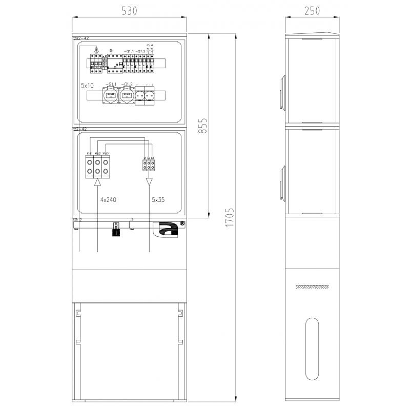 TRB-SV3100-1x32-1x16-2x230