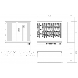 TSTSF8-8-NH3-xxx-NH2
