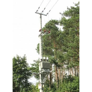 Stacje transformatorowe na przewody izolowane