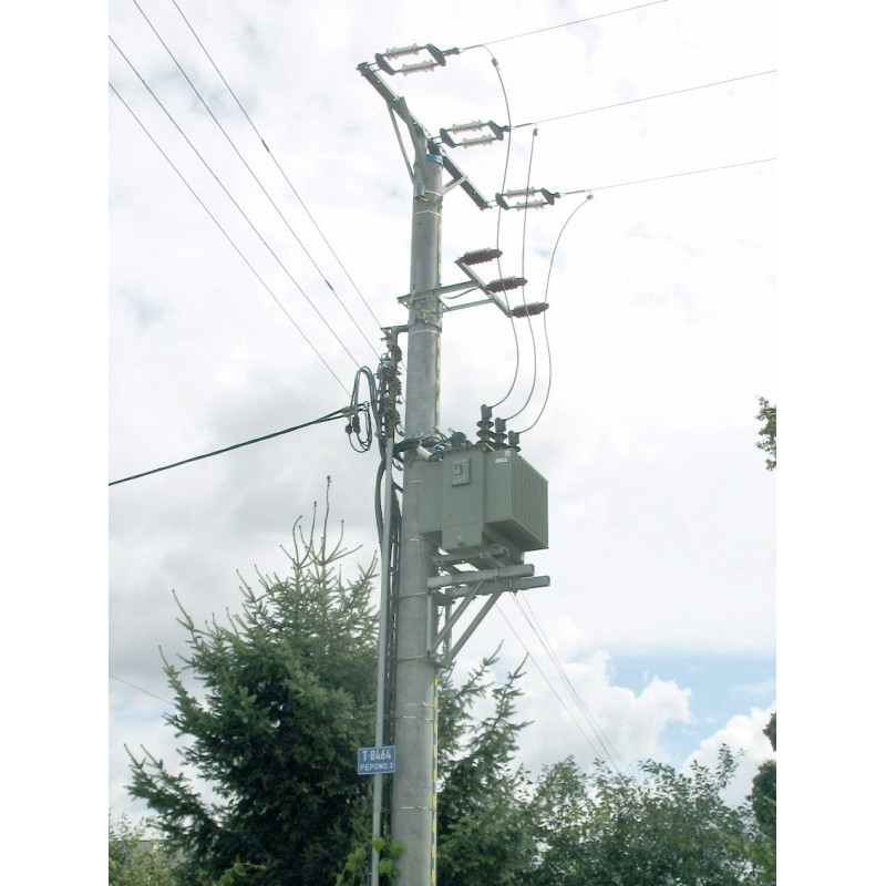 Stacje transformatorowe na przewody nieizolowane